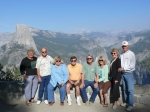 Eddie Allen with friends and neighbors at Yosemite. That's Diane Deal on the far left - while her husband Jim Tollefson