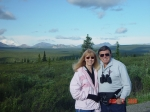 Eddie Allen with his lovely lady, Barbara in Alaska!