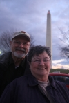 Jerry McCann and Bonnie (Myers) Gill, Washington D.C. Nov. 2009