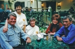 I'm not certain of all of the names, but I think - from L to R - they are Keith Webb, Nancy Mathews, Karen Sake, Jeri N