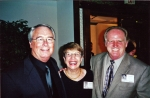 2000 Reunion - L to R - Denny Skirvin, Ann Krappe and Everett Nelms