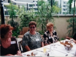 2001 Girls Reunion Luncheon - L to R - Merita Livernois, Gail Theison and Andy Friedrichsen
