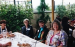 2001 Girls Luncheon - L to R - Linda Ghiselline, ??, Karen Coleman and Marilee Price