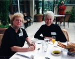 2001 Girls Luncheon - Melinda Mullen and Jackie Johnson