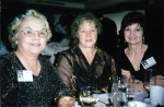 From the 2000 reunion - Lynda O'Connor, Marilee Price and Nancy Mathews