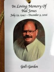 Hal Jones Photo from sister Christine Adsit